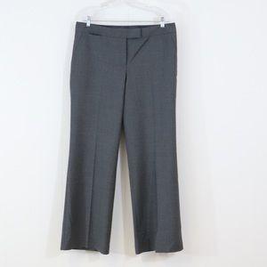 Talbots signature gray dress pants plus-size 14
